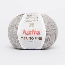 Katia Merino Fine Wol 21 - Lichtgrijs