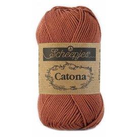 Scheepjes Catona 50 - 504 - Brick Red