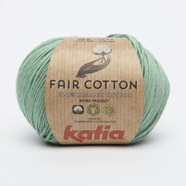 Katia Fair Cotton 17 Groen