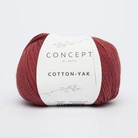 Katia Cotton Yak 105 Rood