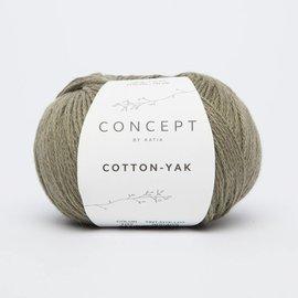 Katia Cotton Yak 107 Lichtgroen