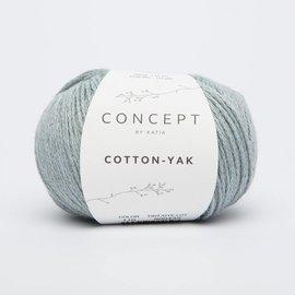 Katia Cotton Yak 110 Hemelsblauw