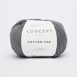 Katia Cotton Yak 113 Antracietgrijs