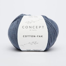 Katia Cotton Yak 116 Jeansblauw