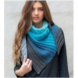 Gratis Breipatroon sjaal Paint