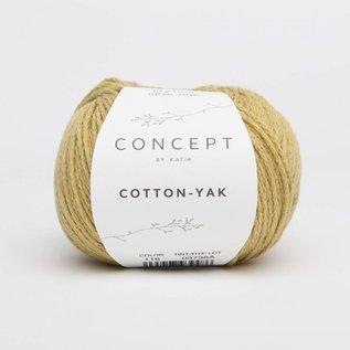 Katia Cotton Yak 118 Mosterdgeel - Concept Collectie