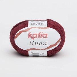 Katia Linen 24 Wijnrood