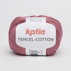 Katia Tencel Cotton 16  Framboos