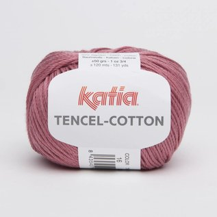 Katia Tencel Cotton 16  Framboos