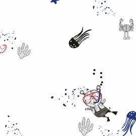 Katia Fabrics White Seaworld