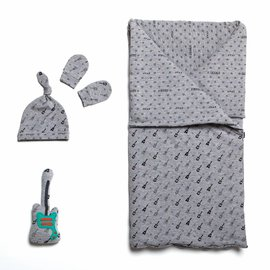Katia Fabrics Naaipatroon  slaapzak, muts en wanten