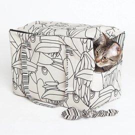 Katia Fabrics Naaipatroon  transporttas, visgraat en bot