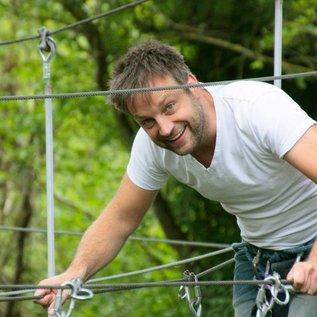 Abseilen, klimmen en tokkelen