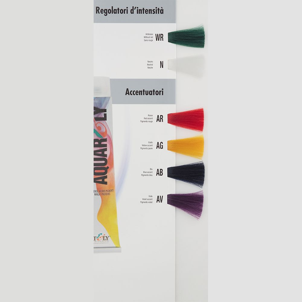 Itely Aquarely Itely Haarverf - Itely Aquarely - Haarkleur Violet mix (AV) - Itely Hairfashion