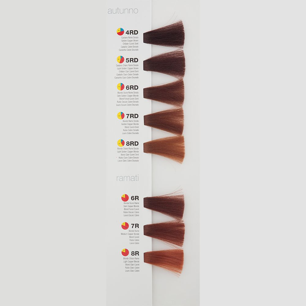 Itely Colorly 2020 acp Itely Haarverf - Itely Colorly 2020 acp - Haarkleur Donker blond rood koper goud (6RD) - Itely Hairfashion