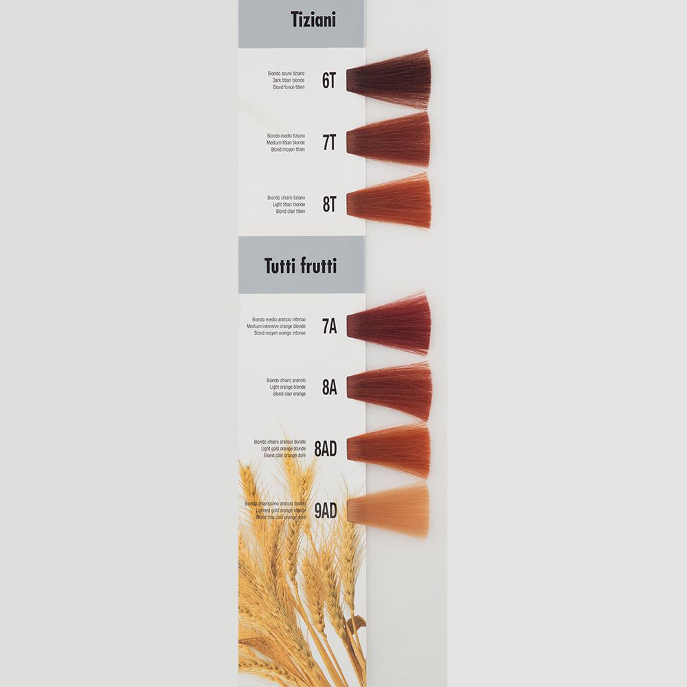 Itely Aquarely Itely Haarverf - Itely Aquarely - Haarkleur Licht sinaasappel rood blond (8A) - Itely Hairfashion