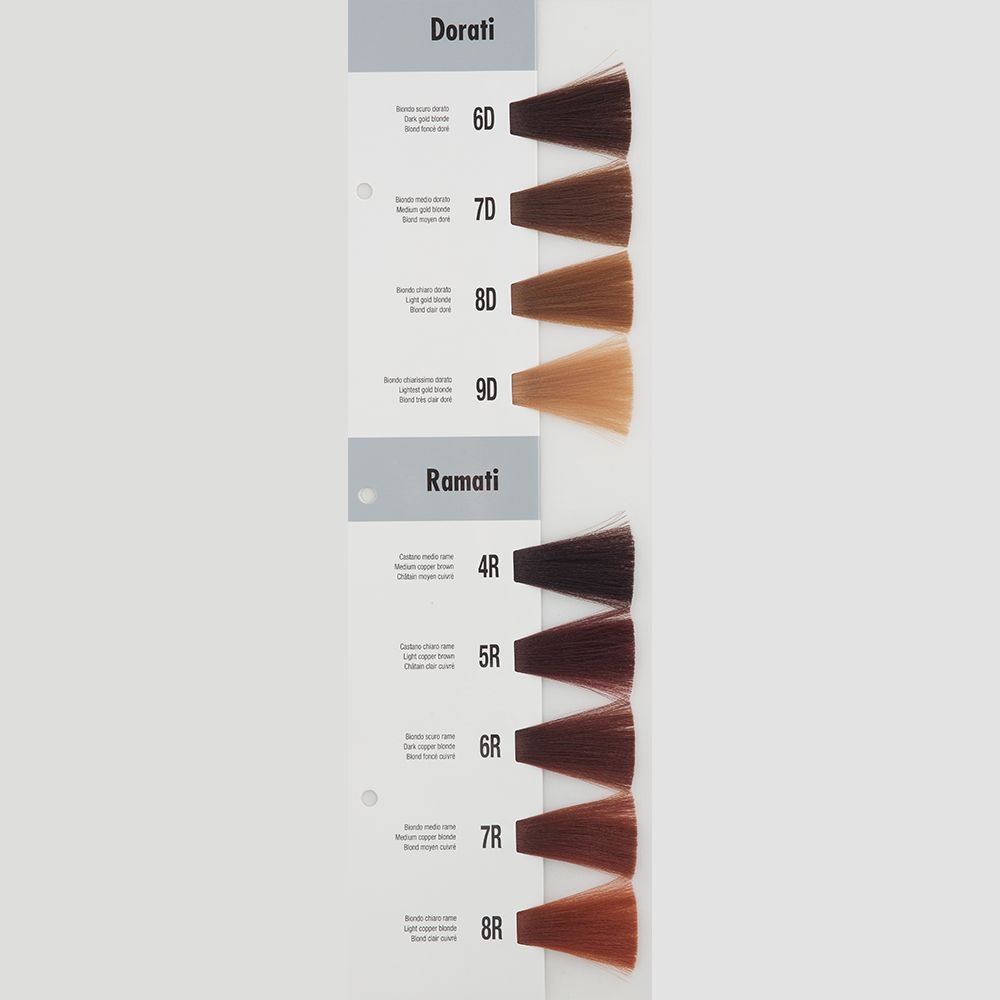 Itely Aquarely Itely Haarverf - Itely Aquarely - Haarkleur Donker goud blond (6D) - Itely Hairfashion