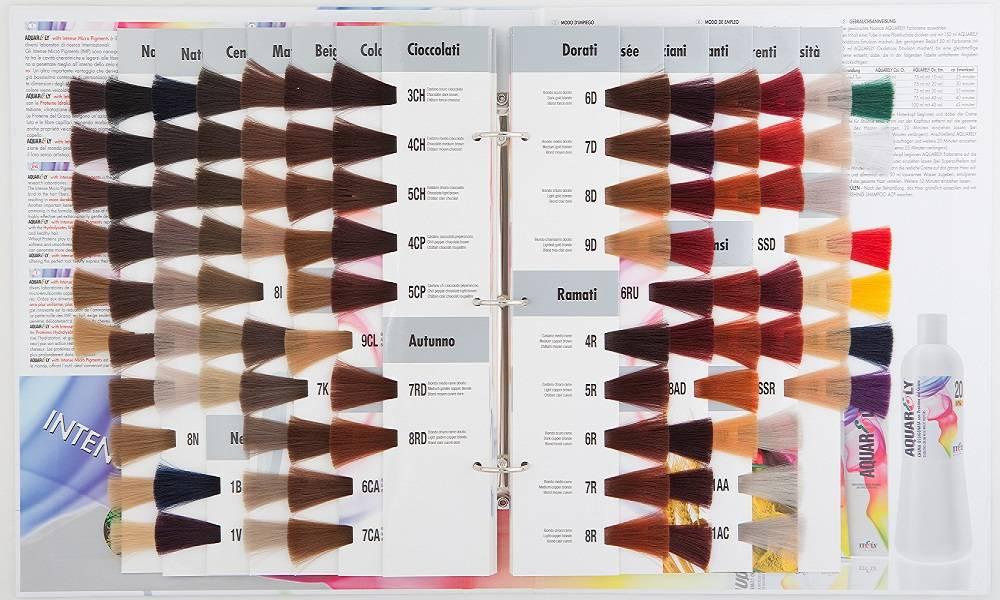 Itely Aquarely Itely Haarverf - Itely Aquarely - Haarkleur Donker mat blond (6I) - Itely Hairfashion