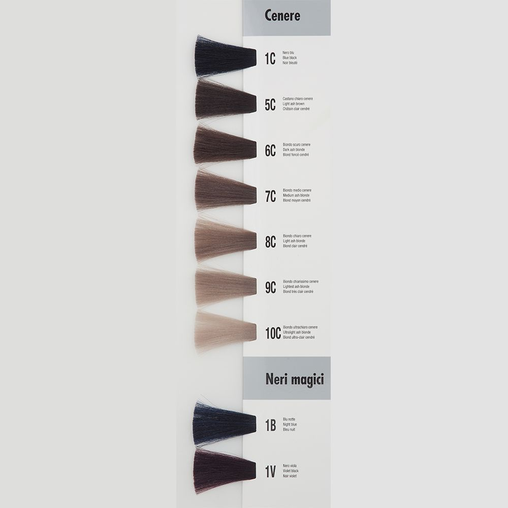 Itely Aquarely Itely Haarverf - Itely Aquarely - Haarkleur Ultra licht blond cendre-as (10C) - Itely Hairfashion