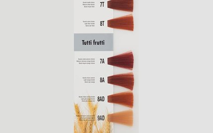 Titiaan Koper - Fruit Koper Tinten : T - A - AD