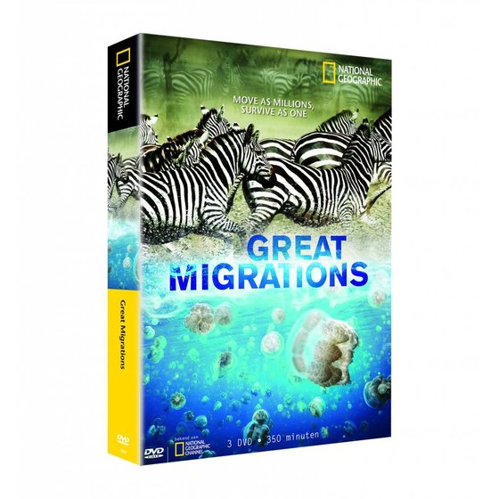 Great Migrations dvd-box