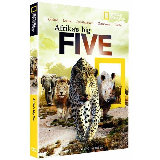 Afrika's Big Five dvd-box -niet meer leverbaar