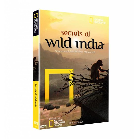 National Geographic Secrets of Wild India dvd