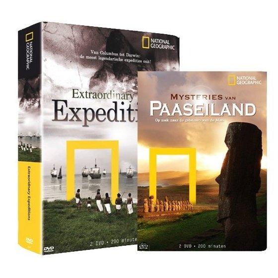 Extraordinary Expeditions en Mysteries van Paaseiland dvd set