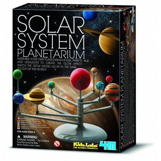 Space Bouwset Planetenstelselmodel