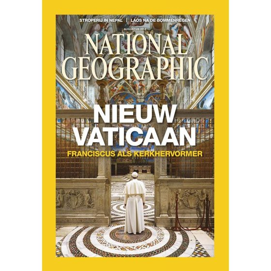 National Geographic Magazine | augustus 2015
