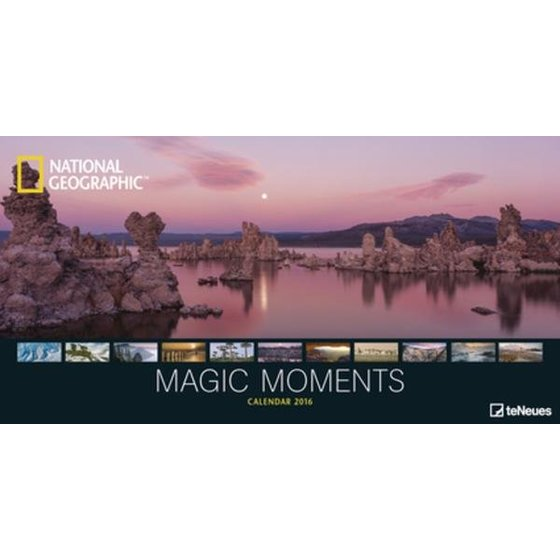 Magic Moments panorama kalender 2016