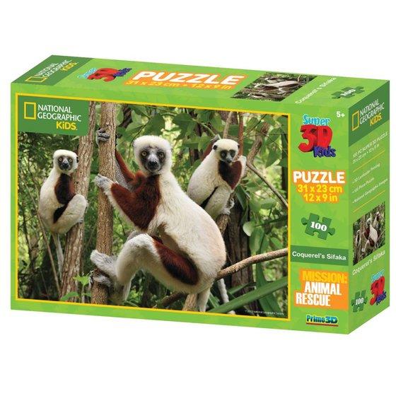 3D puzzel lemur