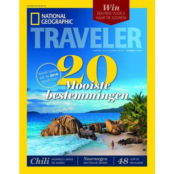 Nat Geo Traveler National Geographic Traveler | Editie 1 2016