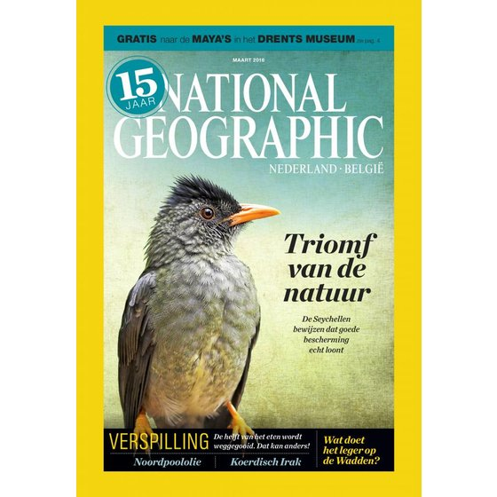 National Geographic Magazine | maart 2016