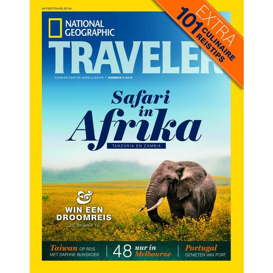 Nat Geo Traveler National Geographic Traveler | Editie 2 2016