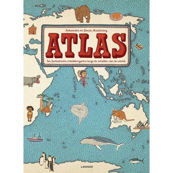 ATLAS. Een fantastische ontdekkingsreis langs de schatten van de wereld