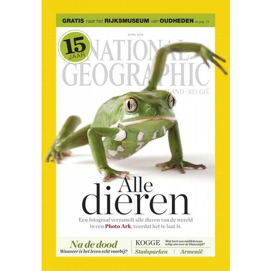 National Geographic Magazine | april 2016 (kikker)