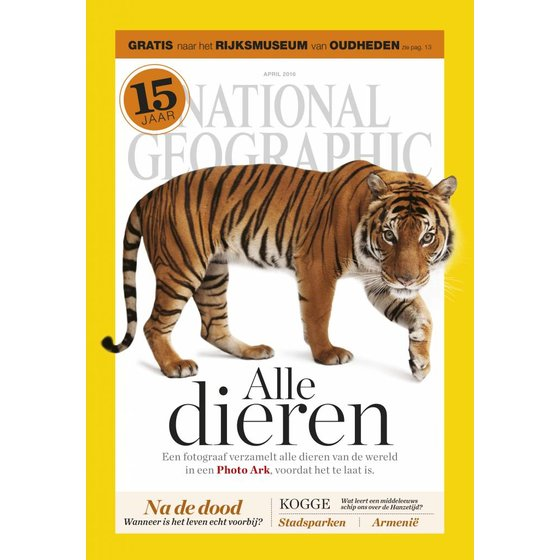 National Geographic Magazine | april 2016 (tijger)