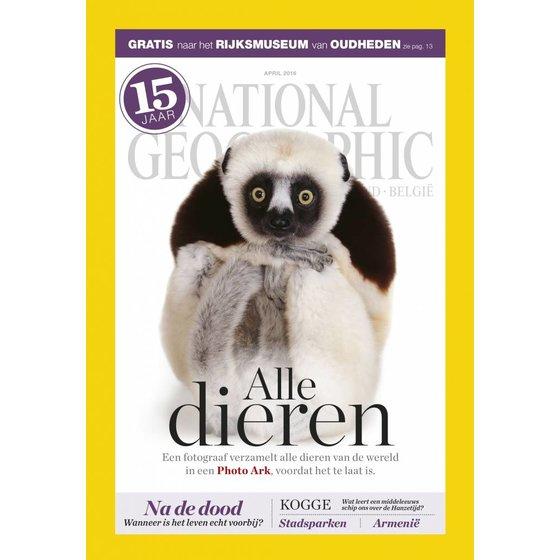 National Geographic Magazine | april 2016 (maki)