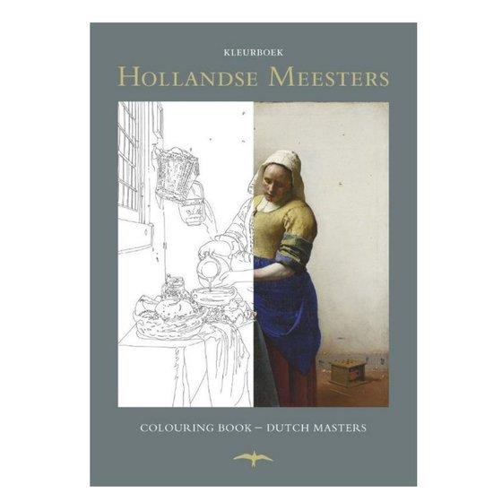Kleurboek Hollandse meesters