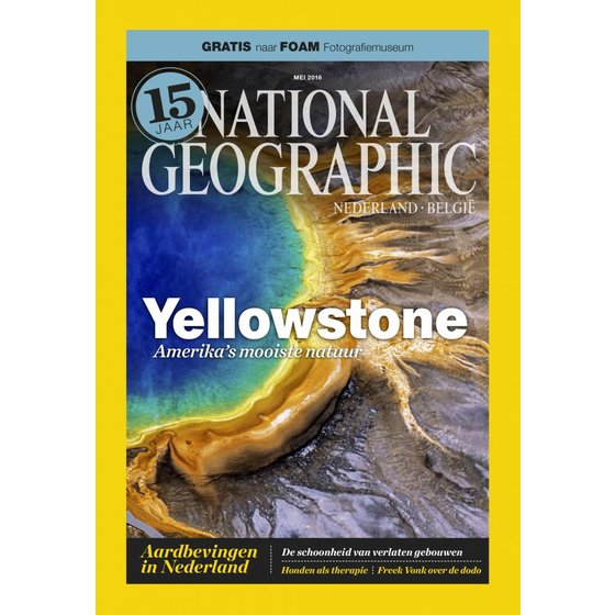 National Geographic Magazine | mei 2016