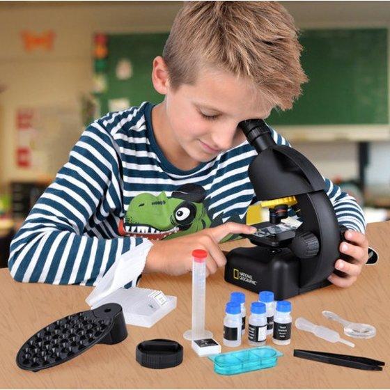 Junior microscoop met smartphone adapter