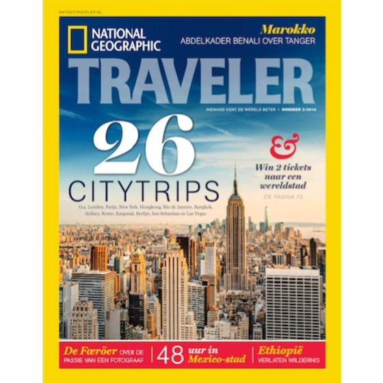 Nat Geo Traveler National Geographic Traveler | Editie 3 2016