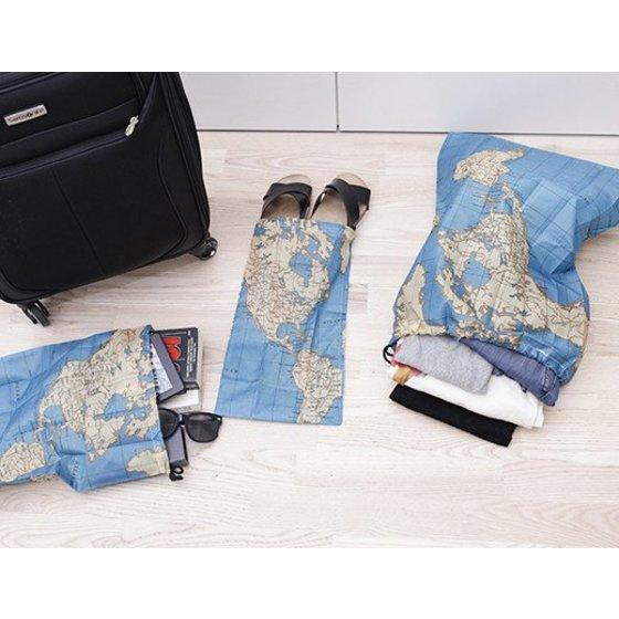 Travel tasjes - set van 4