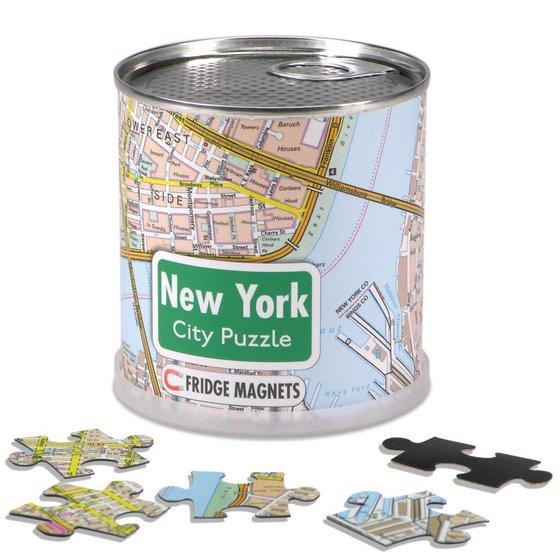 New York City Puzzel magneten