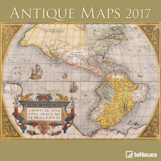 Kalender 2017 - Antique maps