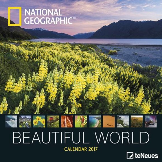 National Geographic Kalender 2017 - Beautiful world