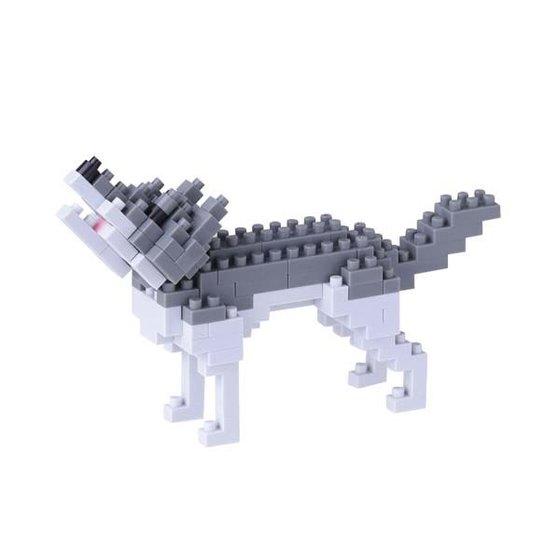 Nanoblock™ - Grijze wolf