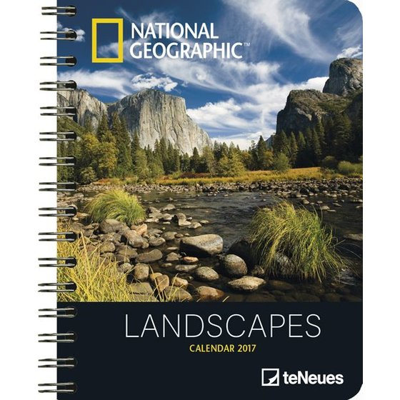 National Geographic Agenda 2017 - Landscapes