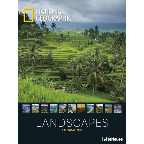 National Geographic XXL Kalender 2017 - Landscapes
